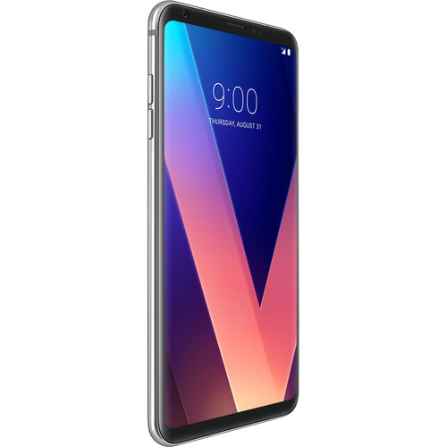 LG LG V30 US998 64GB Smartphone (Cloud Silver)