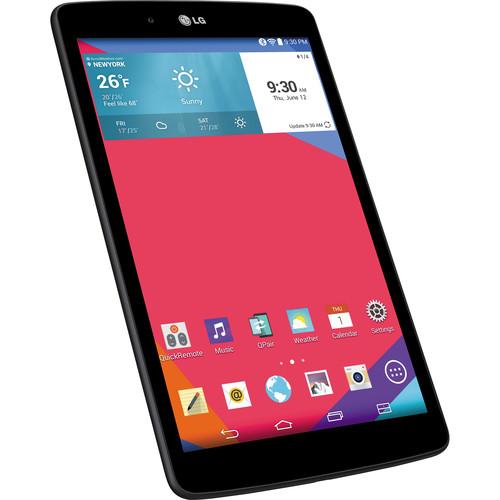 """LG 16GB G Pad 8.0"""" Wi-Fi Tablet (Black)"""