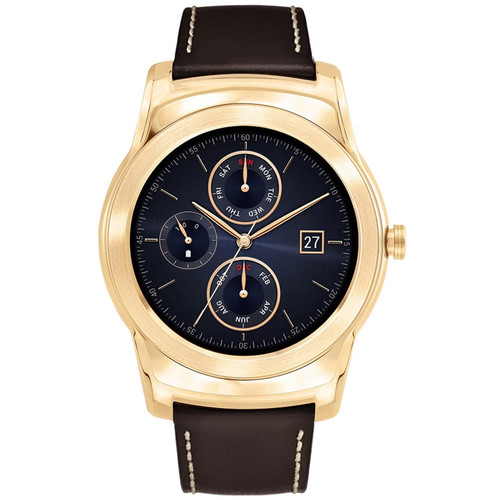 LG Watch Urbane Luxe Smartwatch (23K Gold)