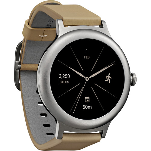 LG Watch Style Smartwatch (Silver)