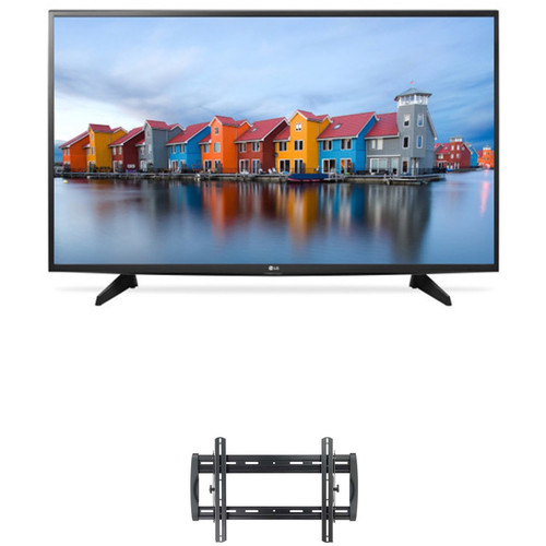 "LG LJ5500-Series 55""-Class Full HD Smart LED TV and Tilting Wall Mount Kit"