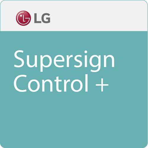 LG SuperSign Control+ (Download)