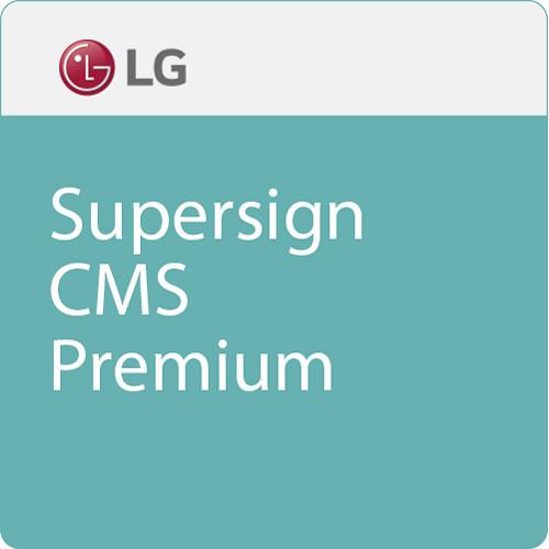 LG Supersign CMS Premium