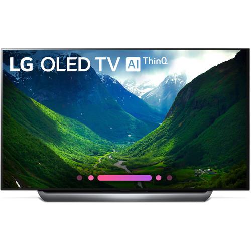 """LG C8PUA Series 77""""-Class HDR UHD Smart OLED TV"""