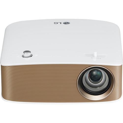 LG Minibeam Nano 130-Lumen HD LCoS Pico Projector with WiDi