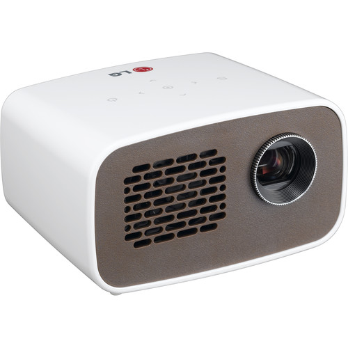 Lg ph300 hd minibeam portable dlp led projector ph300 b h for Dlp pocket projector