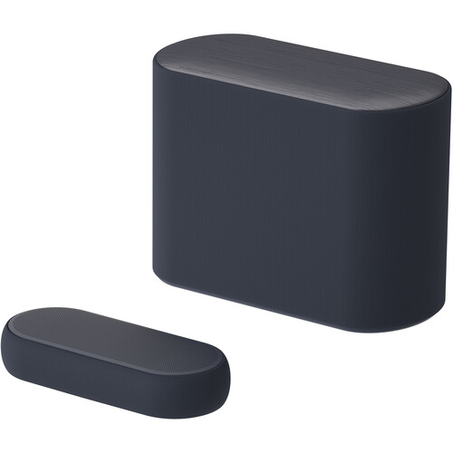 LG QP5 Éclair 320W 3.1.2-Channel Soundbar System (Black)
