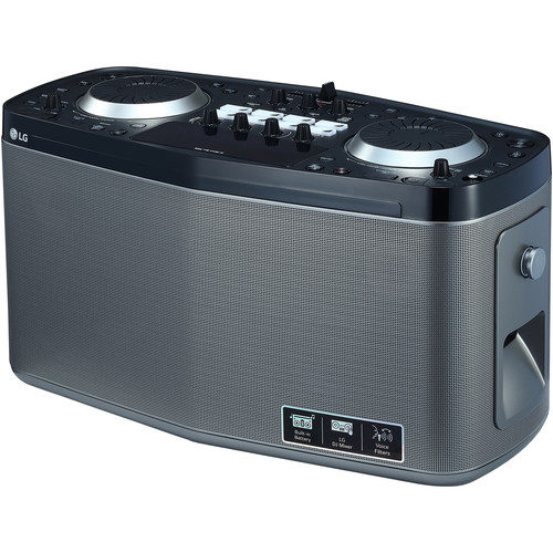 LG RK8 LOUDR Portable 100W Bluetooth Entertainment System with DJ Pro