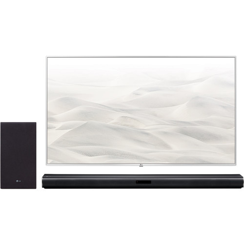 LG Wireless Sound Bar with Subwoofer & TV Connections