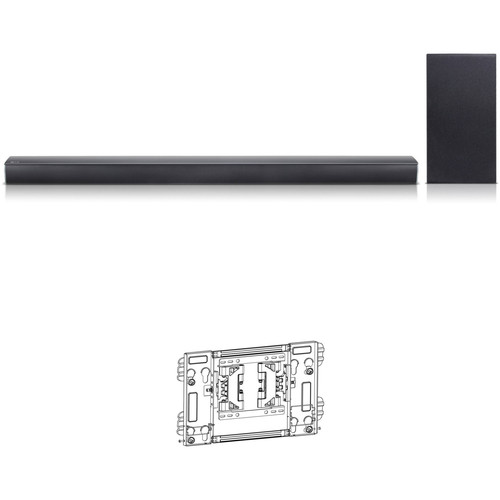 LG SJ5Y-S 320W 2.1-Channel Soundbar System and TV Wall Mount Kit