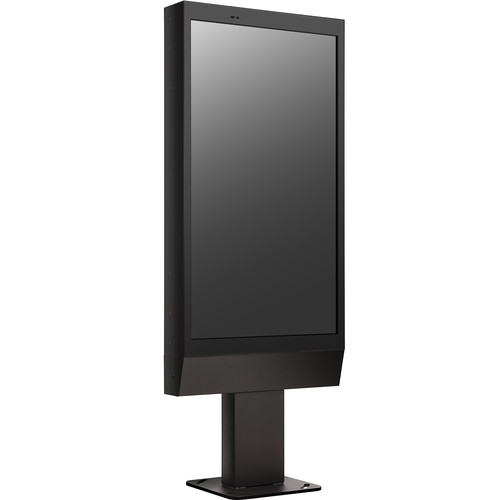 LG Enclosure Floor Stand for 75XE3C/55XE3C Outdoor Display Screen