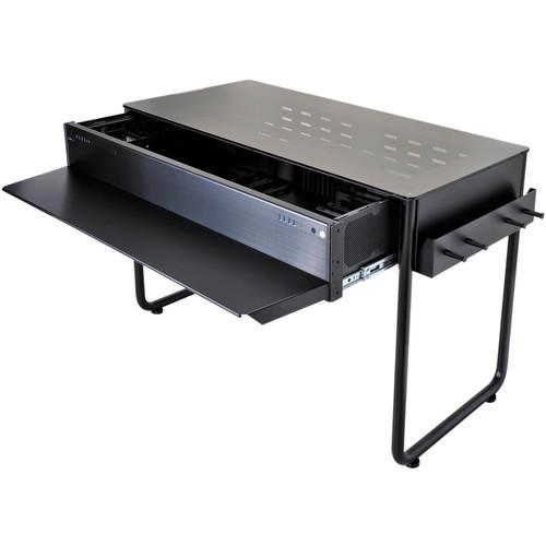 Lian Li DK-02X Aluminum Computer Desk (Black)