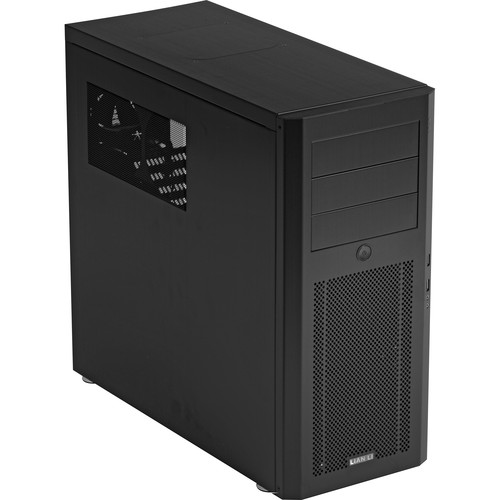 Lian Li PC-10NB Mid-Tower Case (Black)