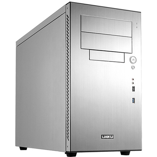 Lian Li PC-A05FN Mid Tower ATX Case (Silver)