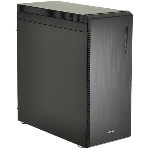 Lian Li Mid-Tower ATX USB 3.0 Chassis (Aluminum, Black)