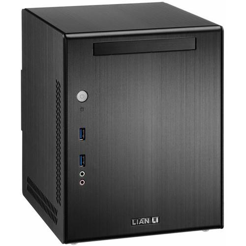 Lian Li PC-Q03B Mini-ITX Tower Desktop Case (Black)