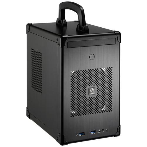 Lian Li PC-TU100 Mini-ITX/Mini-DTX Mini Tower Chassis (Black)