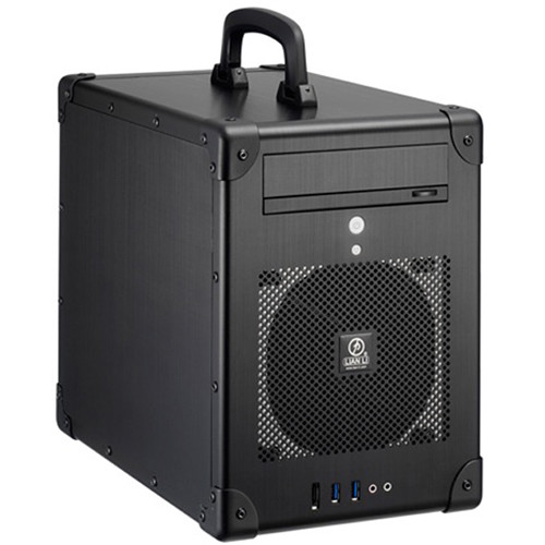 Lian Li PC-TU200 Portable Mini-Tower Case (Black)