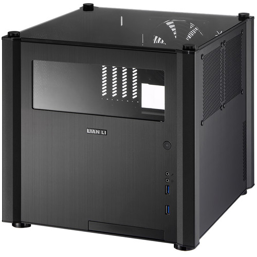 Lian Li PC- V359 Micro-ATX/Mini-ITX Mid Tower Chassis (Black)