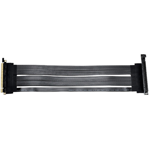 "Lian Li High-Speed Shielded PCIe 16x Gen3 Riser Cable (14.9"")"