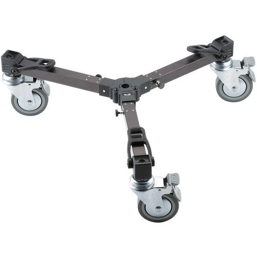 Libec DL-5B Versatile Length Dolly for RT30B, RT40RB, RT50B, and RT50C Tripods (Black)