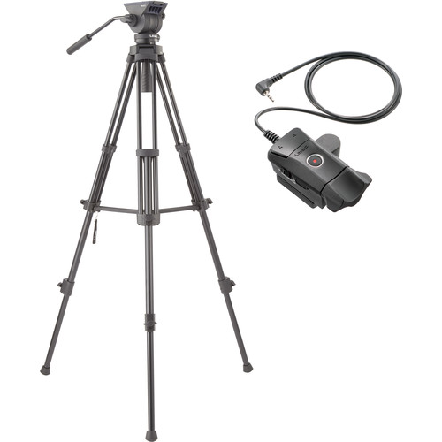 Libec TH-X Video Tripod System with ZFC-L LANC Remote Control