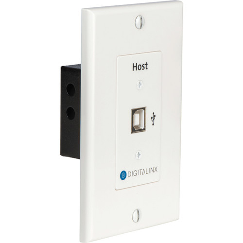 Digitalinx USB 2.0 Over Hi-Speed Twisted Pair Extender Wall Plate Host (330')