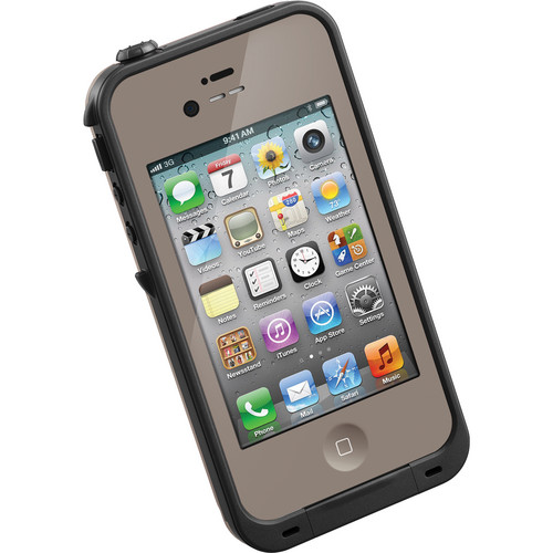 LifeProof Case for iPhone 4/4s (Dark Flat Earth)