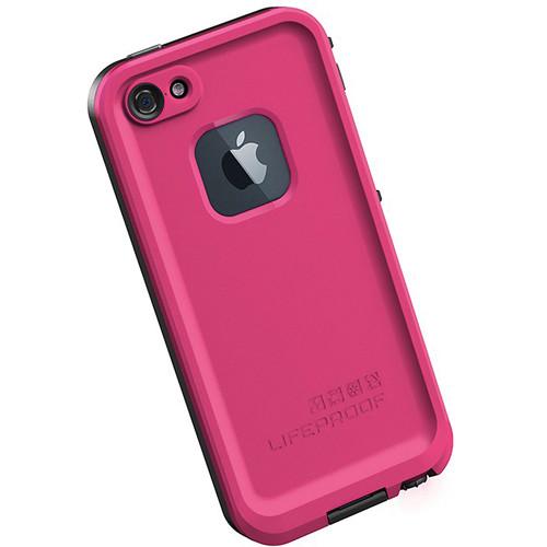 LifeProof frē Case for iPhone 5 (Magenta / Black)