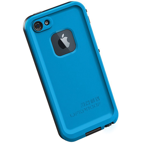 LifeProof frē Case for iPhone 5 (Cyan / Black)