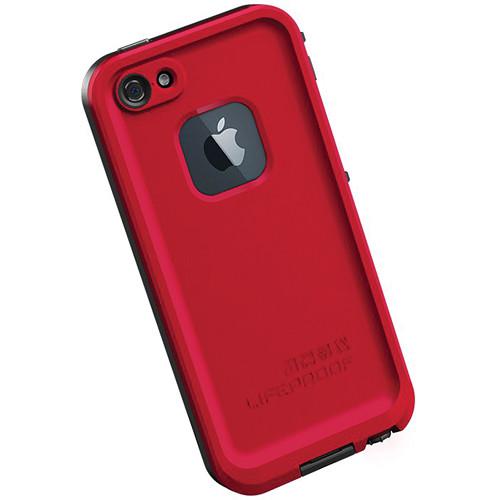 LifeProof frē Case for iPhone 5 (Red / Black)
