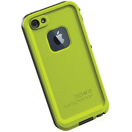 LifeProof frē Case for iPhone 5 (Lime / Black)