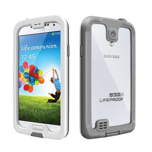 LifeProof nüüd Case for Galaxy S4 (White/Gray)