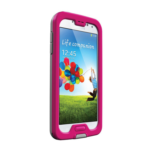 LifeProof nüüd Case for Galaxy S4 (Magenta/Gray/Clear)