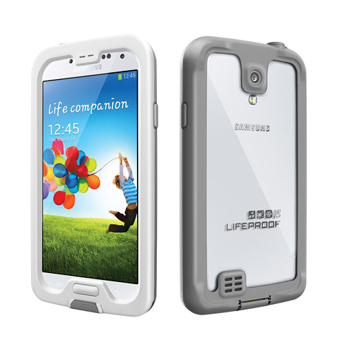 LifeProof frē Case for Galaxy S4 (White/Gray)