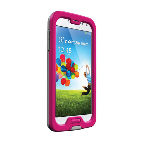 LifeProof frē Case for Galaxy S4 (Magenta/Gray/Clear)