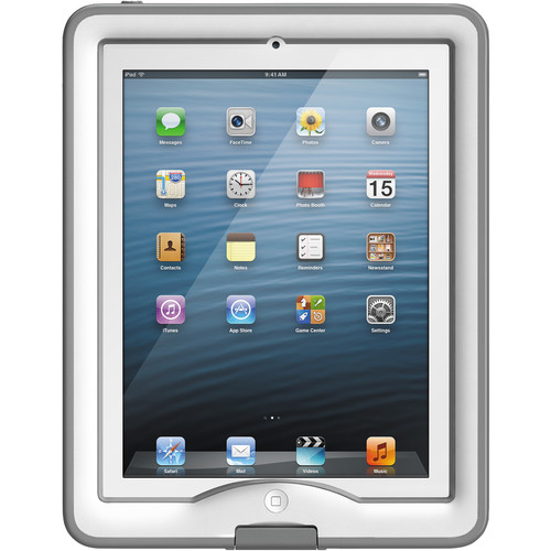 LifeProof nüüd Case for iPad Air (White/Gray)