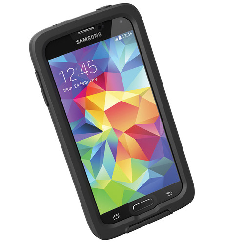 LifeProof frē Case for Galaxy S5 (Black/Clear)