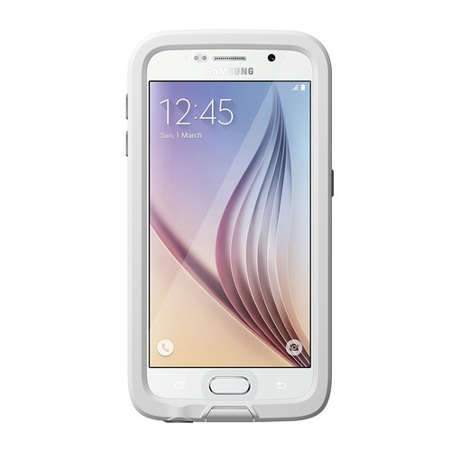 LifeProof frē Case for Galaxy S6 (White/Gray)