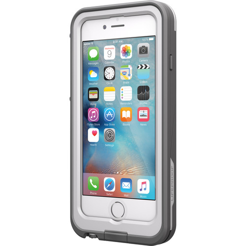 LifeProof frē Power 2600mAh Battery Case for iPhone 6/6s (White/Gray)