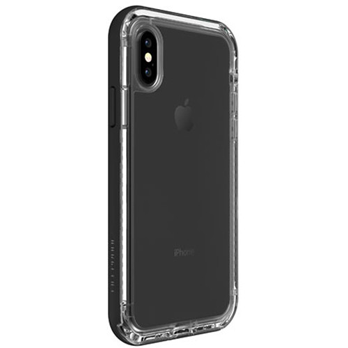 LifeProof NËXT Case for iPhone X (Black Crystal)