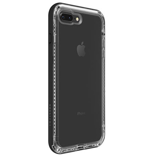 LifeProof NËXT Case for iPhone 7 Plus/8 Plus (Black Crystal)