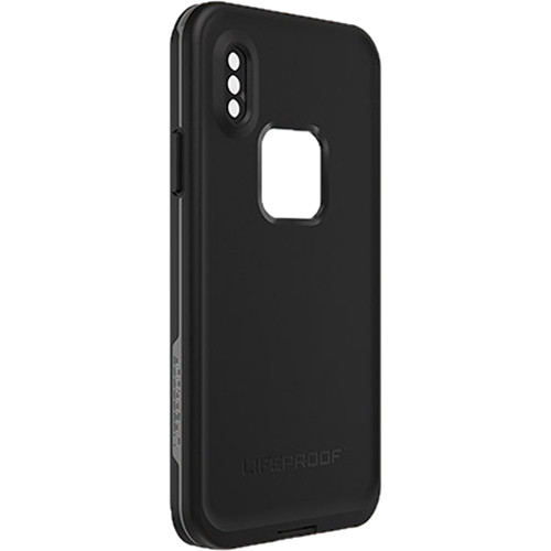 LifeProof Frē Case for iPhone Xs (Asphalt)