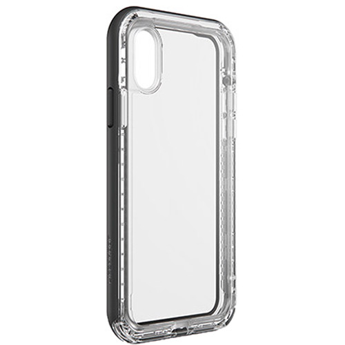 LifeProof NËXT Case for iPhone Xs (Black Crystal)
