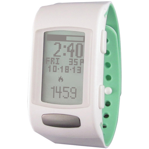 LifeTrak Core C200 Activity Tracking Watch (White/Pistachio)