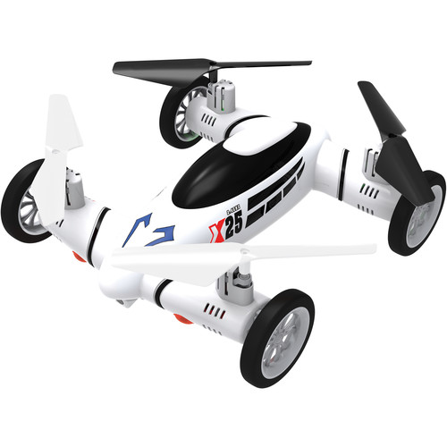 Lift Off X25 2-in-1 Drone/Car (White)