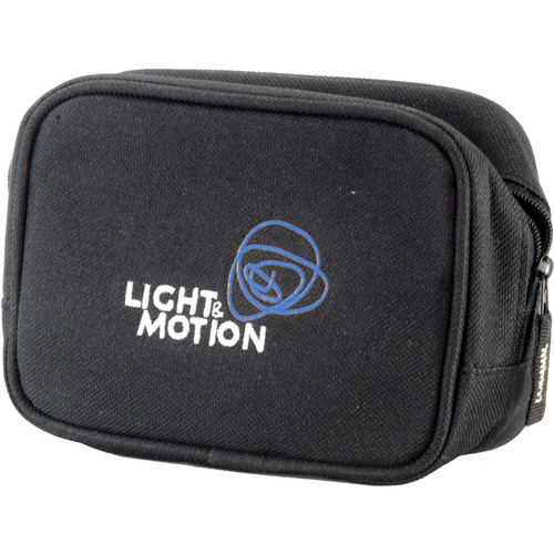 "Light & Motion Zippered Bag for Select Lights & Accessories (6 x 2 x 4.5"")"