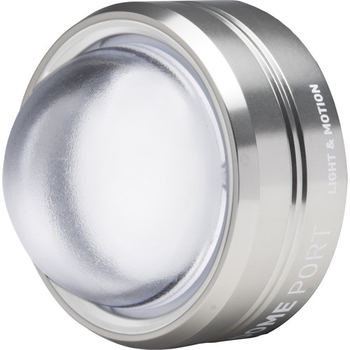 Light & Motion Dome Port Optic for Select SOLA and Stella Video Lights