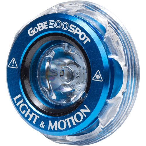 Light & Motion Spot Head for GoBe & GoBe+ Flashlights (500 Lumens, Blue)