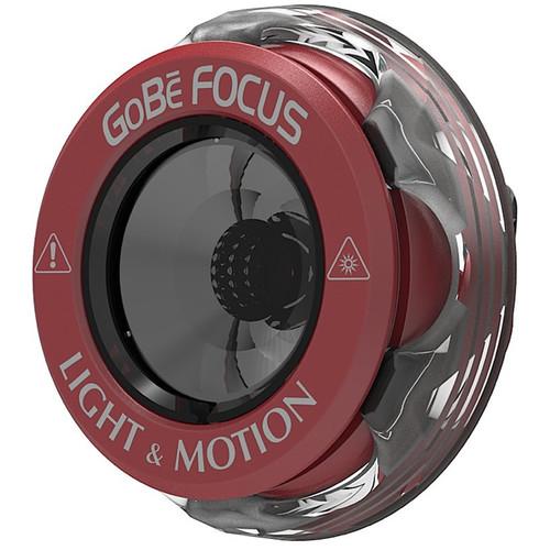 Light & Motion Focus Head for GoBe & GoBe+ Flashlights (165 Lumens, Red)